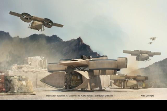 Lockheed-Piasecki ARES, Artist Rendering