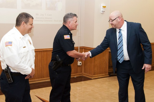 Town hall covers array of topics
