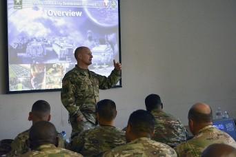 ASC CG speaks at Leader Professional Development in Hawaii