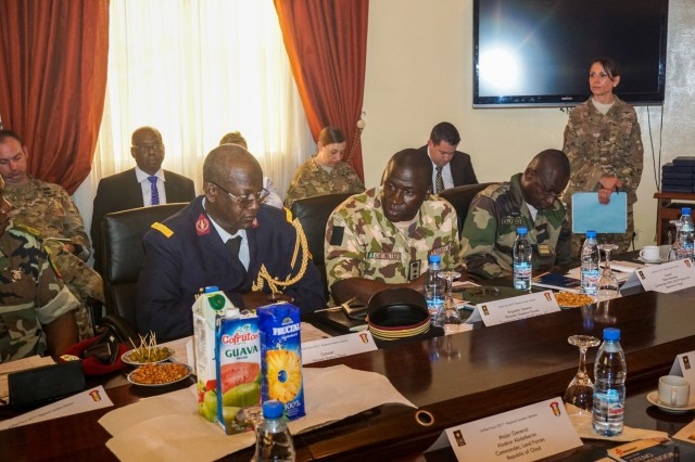 Senior military leaders from 8 nations gathered for the Unified Focus 2017 Regional Leaders Seminar held in Douala, Cameroon, April 28. The RLS gathers regional senior leaders together to discuss shared issues, challenges and threats in an open forum where candid dialog is encouraged between participants.