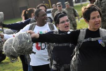 Fort Drum spouses get taste of Soldier life
