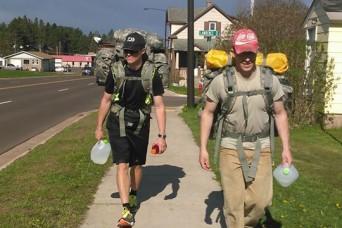 22 reasons Michigan National Guard walk with a purpose