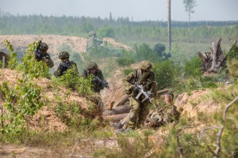 1st Infantry Division paves the way for Saber Strike 17