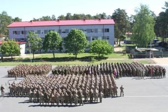 Exercise Saber Strike 17 culminates in Latvia