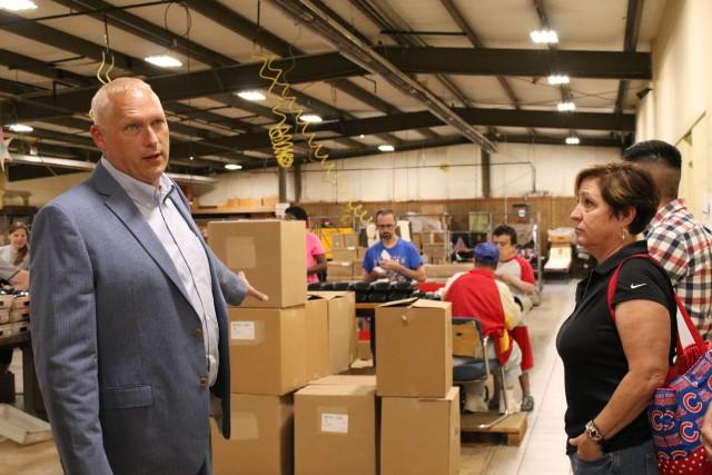 ACC-RI, JMC employees visit Rolling Hills