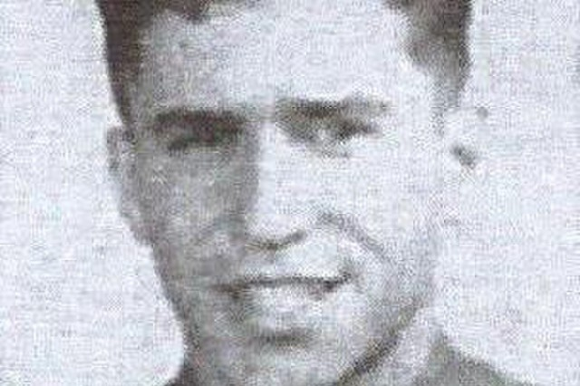 U.S. Army PFC Silvio Campanella, a member of the 42nd Infantry Division from Albany, N.Y. during World War II, who was executed by German forces on Jan. 19, 1945. The Rainbow Division Veterans Foundation recently paid to have his headstone redone with the correct date of his death.