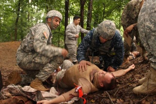 Army testing potentially lifesaving foam device