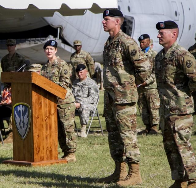 Praising the Command Sergeants Major