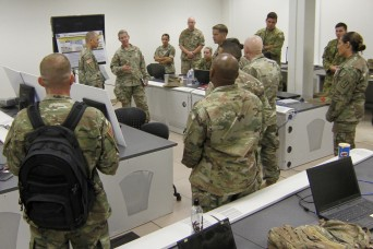 US-Australian Armies participate in 8th TSC's annual MI exercise Perspicuous Provider