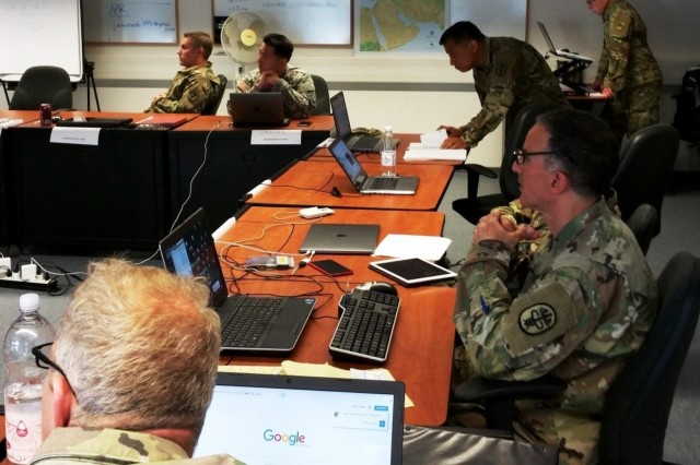 Forty-two U.S. Army field grade officers from various U.S.  Army commands and components completed the Command and General Staff Officer Course, Common Core Phase III at Camp Normandy, United States Army Garrison, Bavaria on June 17, 2017.