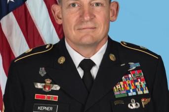 Kepner named senior enlisted advisor to chief of National Guard Bureau