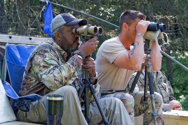Sniper training hits the mark