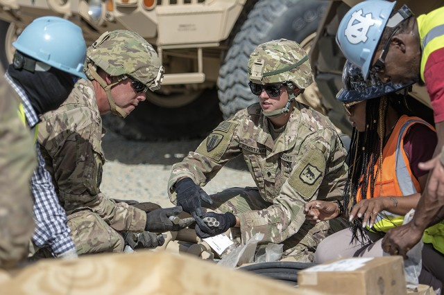 401st Army Field Support Brigade shows off speed of issue during exercise