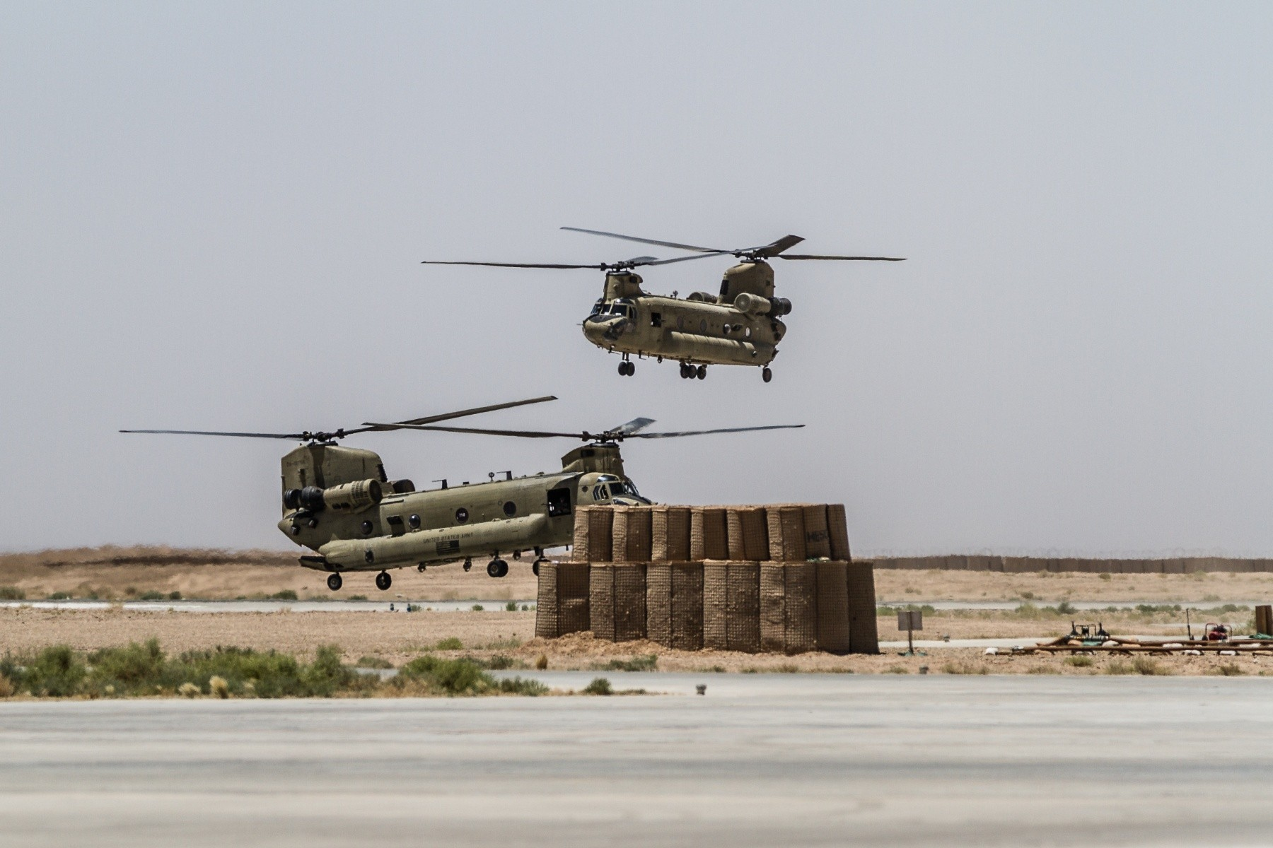 ... Helmand Province, Afghanistan, June 21, 2017. The Warhawks provide aviation support to U.S. Forces Afghanistan as part of Operation Freedom's Sentinel.