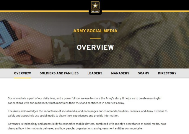 U.S. Army Social Media Handbook