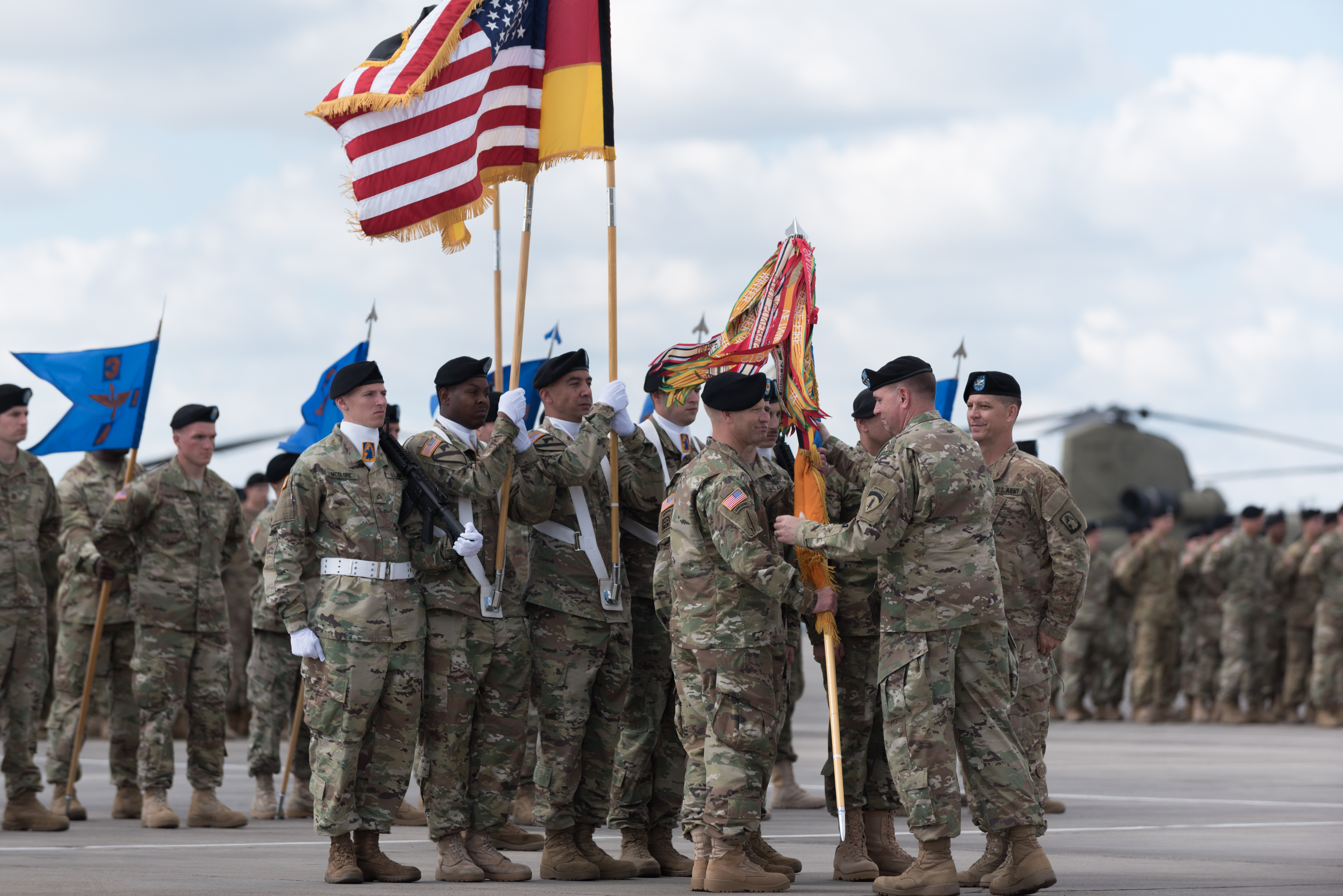 12th Combat Aviation Brigade welcomes incoming commander