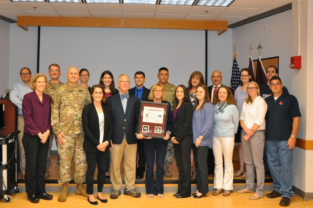 USARIEM Team awarded second quarter Wolf Pack Award for OPAT research