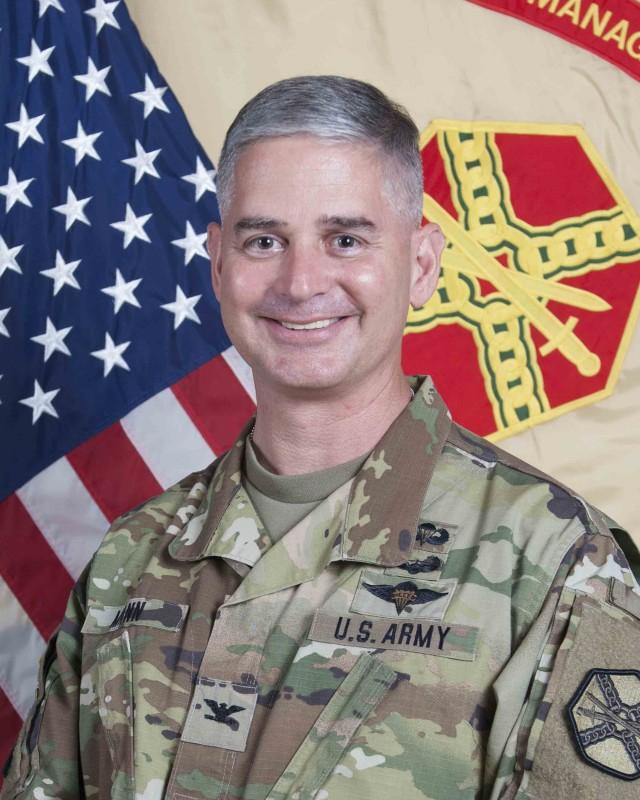 Commander, U.S. Army Garrison Daegu Col. Robert P. Mann