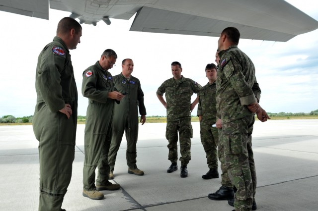 The Ohio Air National Guard's 179th Airlift Wing conducted a C-130 Hercules orientation flight for approximately 20 U.S. Embassy staff members during Exercise Load Diffuser, June 7 at Kecskemet Air Base, Hungary. The 179AW traveled to the air base with two aircraft and nearly 40 Airmen to participate in Load Diffuser 17, a two-week Hungarian-led multinational exercise focused on enhancing interoperability capabilities and skills among NATO allied and European partner air forces by conducting joint operations and air defenses to maintain joint readiness, while also bolstering relationships within the U.S. Air National Guard's State Partnership Program initiatives. Ohio became state partners with Hungary in 1993. Embassy staff were invited to participate in the flight to gain a better understanding of the Ohio National Guard mission and the SPP.