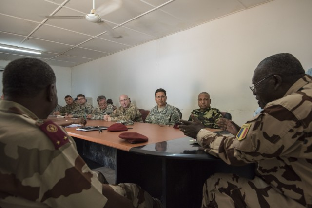 Americans, Chadians kick off Medical Readiness Training Exercise 17-3
