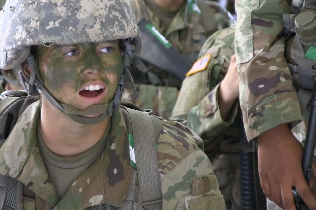Pfc. Rachel Dibbins, C/1-79th Field Artillery