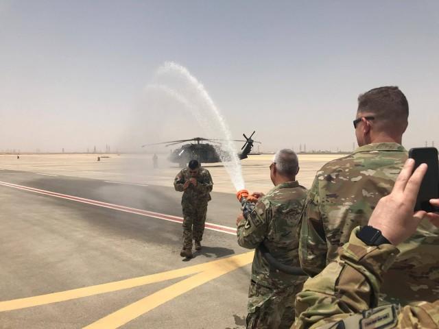 Col. Herrera's last flight in Saudi