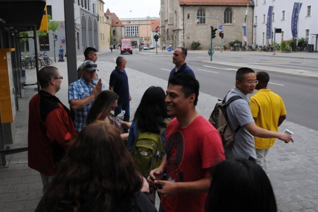 Soldiers from the 115th got the chance to tour the historic German city of Regensburg during a break in the KFOR 23 validation exercise.
