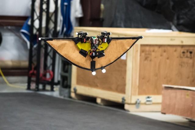 Experimental drone transforms in flight