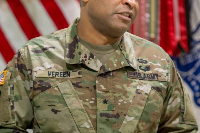 Brig. Gen. Kevin Vereen, commandant U.S. Army Military Police School, Fort Leonard Wood, Missouri.