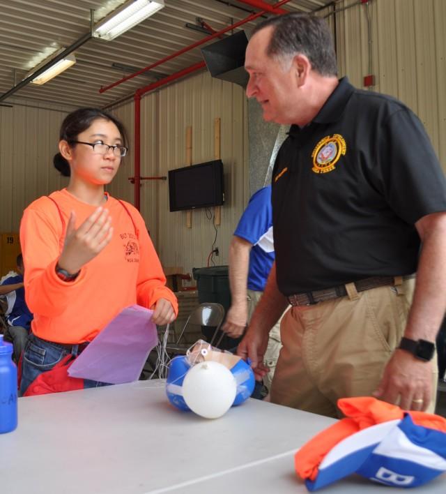 Crane supports mentorship, hosts Basic Leadership Training for high school NJROTC Cadets