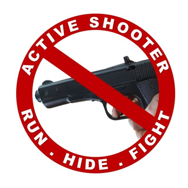 Active shooter mobile application logo