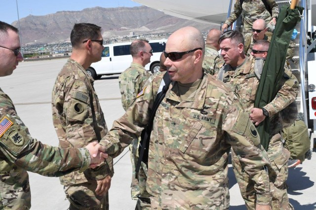 More than 100 Fort Belvoir-based 29ID Soldiers return from federal duty in Jordan