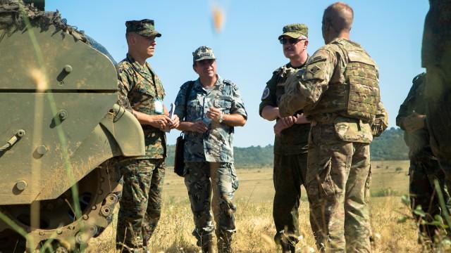 Russian inspection team observes US training, capabilities