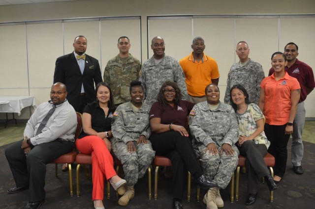 Warrior Care and Transition HR professionals participate in the 2017 HR Training Summit at Joint Base San Antonio, June 27-29