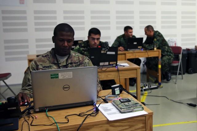 International Help Desk assists Saber Guardian 17 computer, network users