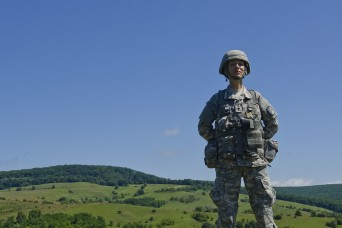 American Dream leads a National Guard Soldier back to service in native country