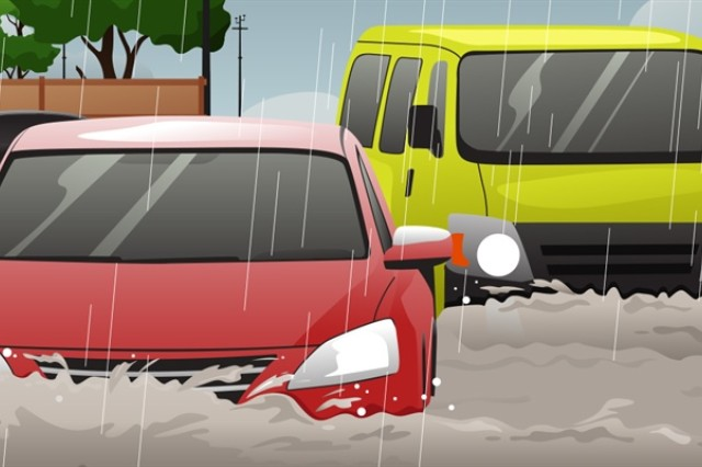 People underestimate the force and power of water. Many of the deaths occur in automobiles as they are swept downstream. Of these drownings, many are preventable, but too many people continue to drive around the barriers that warn the road is flooded. A mere 6 inches of fast-moving flood water can knock over an adult. It takes just 12 inches of rushing water to carry away a small car, while 2 feet of rushing water can carry away most vehicles. It is never safe to drive or walk into flood waters.
