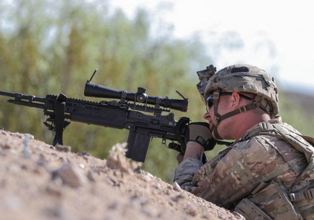 1-26 INF, 2nd BCT, 101st ABN DIV conducts live fire exercise NIE 17.2
