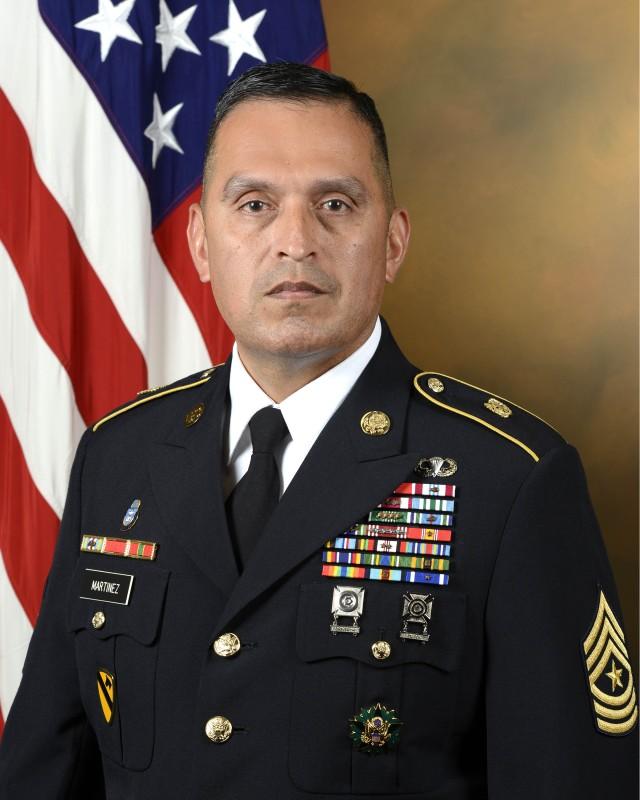 Chaplain Corps Regimental Sergeant Major Ralph Martinez