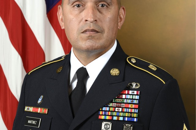 ASU Photo of Chaplain Corps Regimental Sergeant Major Ralph Martinez