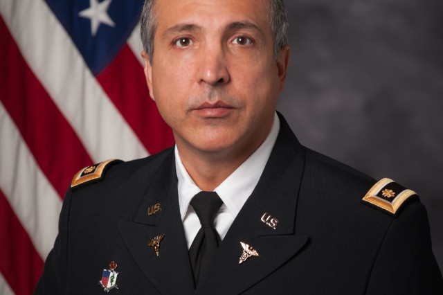 Maj. Giovanni Safdari, the Oral and Maxillofacial Surgery chief at General Leonard Wood Army Community Hospital.