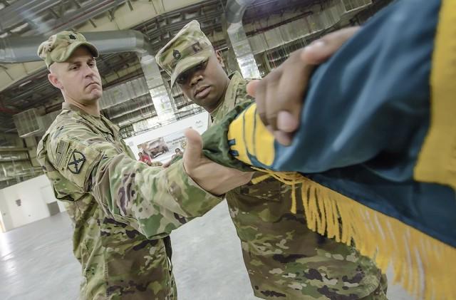2nd Logistics Civil Augmentation Program Support Battalion takes over LOGCAP in CENTCOM