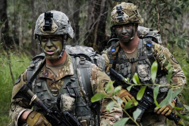 how to join the australian army as a us soldier