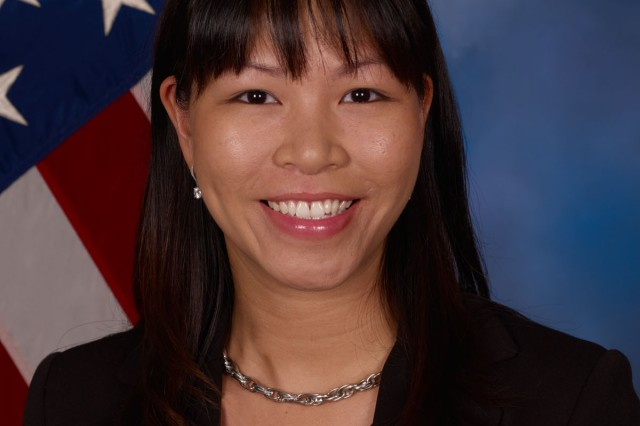 Jeannie Nguyen, a procurement analyst, is assigned to the Army Contracting Command-Aberdeen Proving Ground (ACC-APG), Maryland.