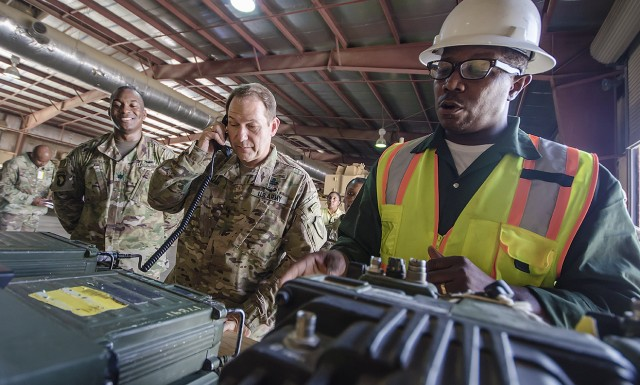 CENTCOM's top logistics officer: APS-5 'the epitome of strength'