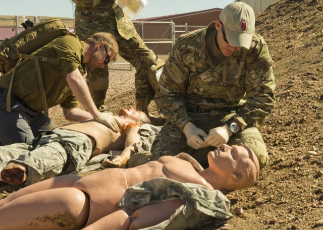 On the modern battlefield, ordinary Soldiers must also prepare to be frontline medics