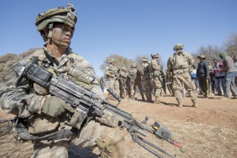 Keeping the peace: Soldiers mediate hostile actors in South African exercise