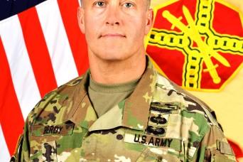 New garrison commander talks leadership, transparency