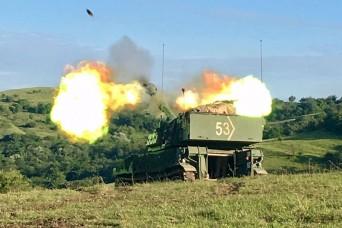 Multinational training gives 3/4 ABCT artillery abundant firing opportunities