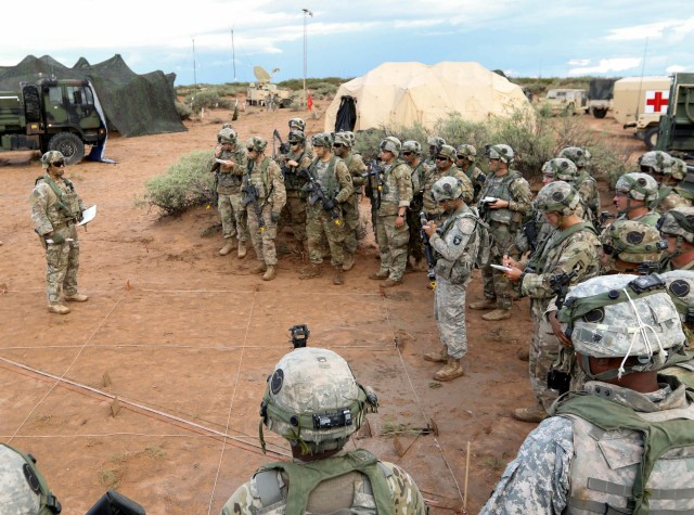 101st  OC's dictate pace during NIE 17.2